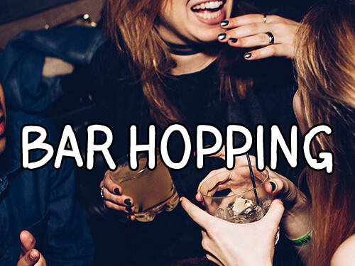 Rent a Party Bus for Bar Hopping